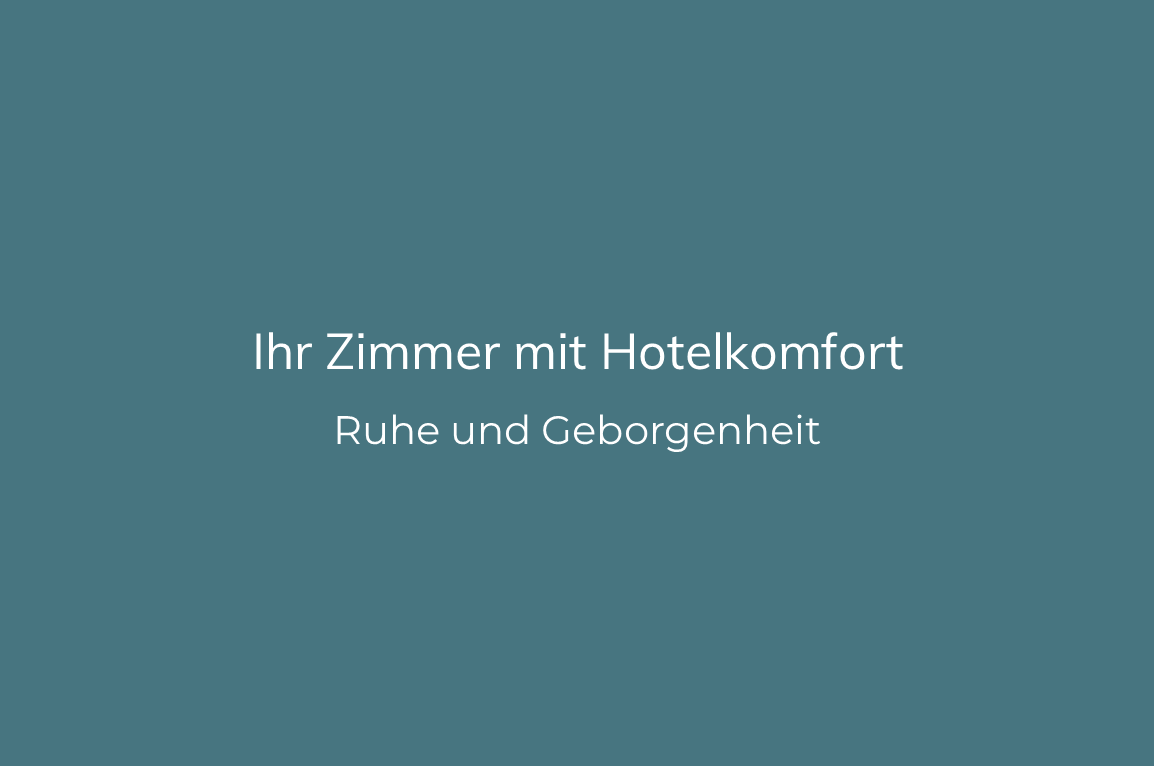 Sanatorium Liebhartstal - Ihr Zimmer mit Hotelkomfort
