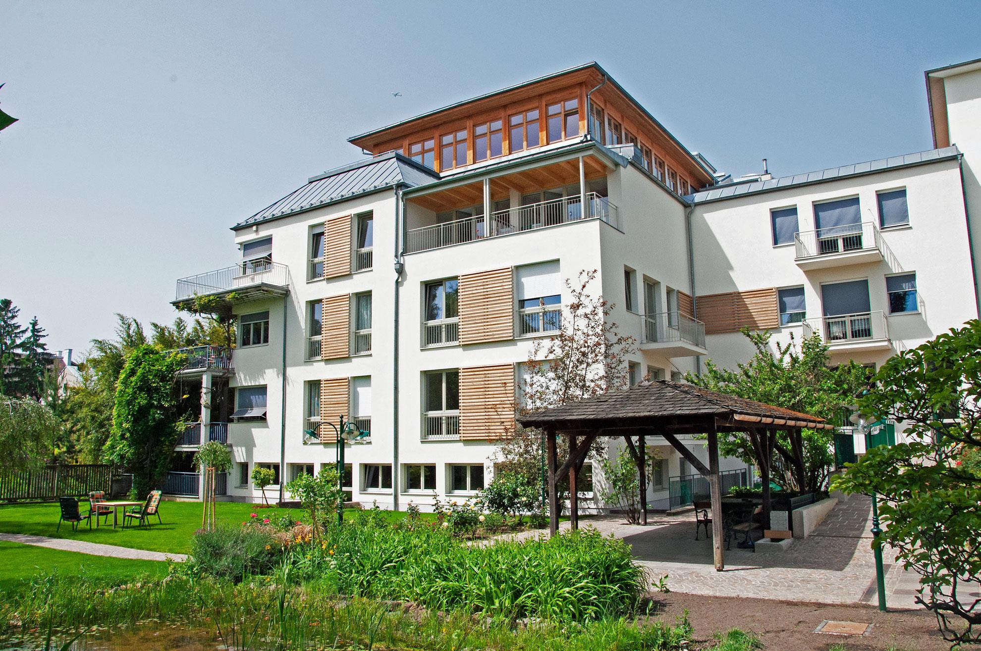 Sanatorium Liebhartstal - Haus und Garten